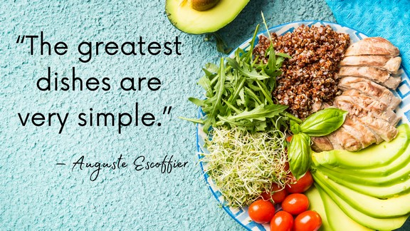 Food and Cooking Quotes, Sayings, and Captions - cover